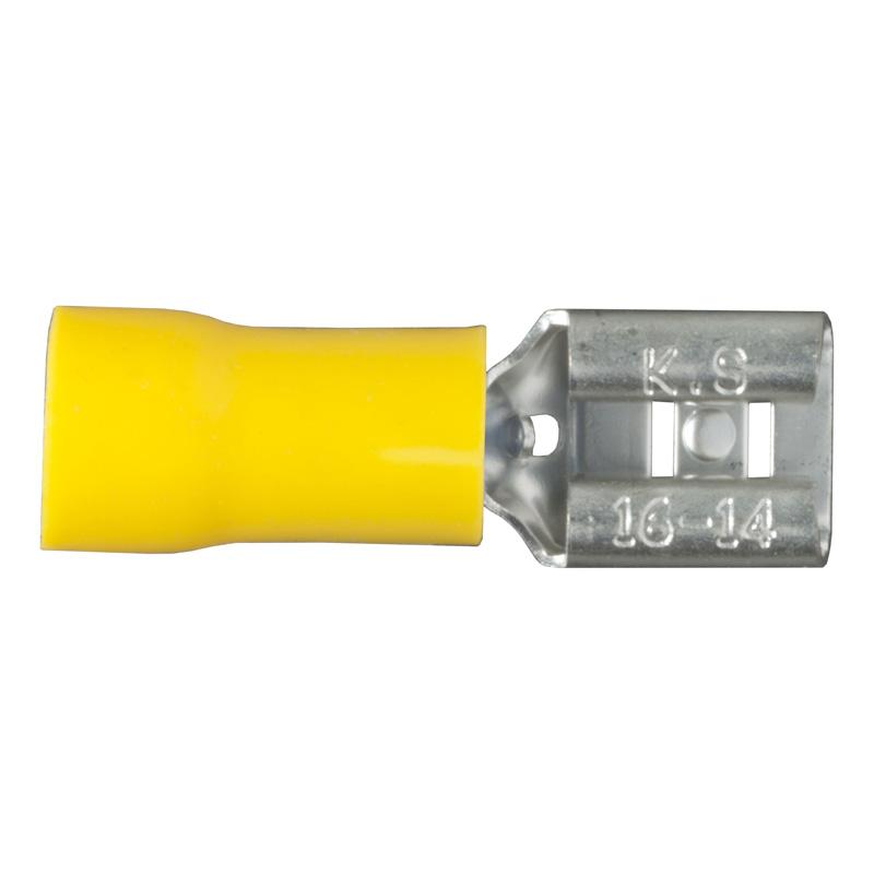 Curt 59593 Female Quick Connectors (12-10 Wire Gauge, 100-Pack)