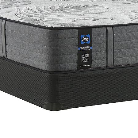Sealy Posturepedic Plus Porteer Soft Mattress + Box Spring, One Size , Gray