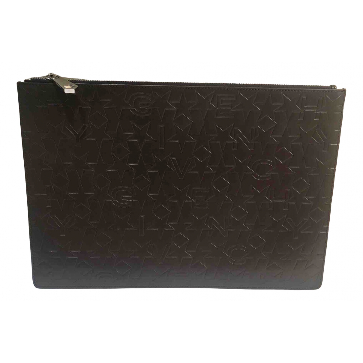 Givenchy \N Kleinlederwaren in  Braun Leder