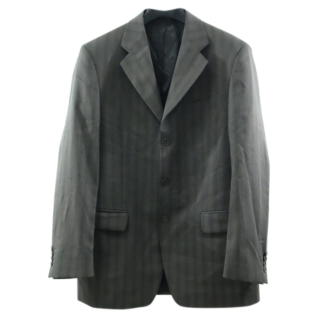 Emilio Pucci \N Jacke in  Grau Wolle