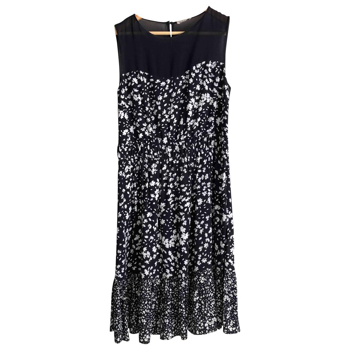 Claudie Pierlot \N Kleid in  Blau Viskose