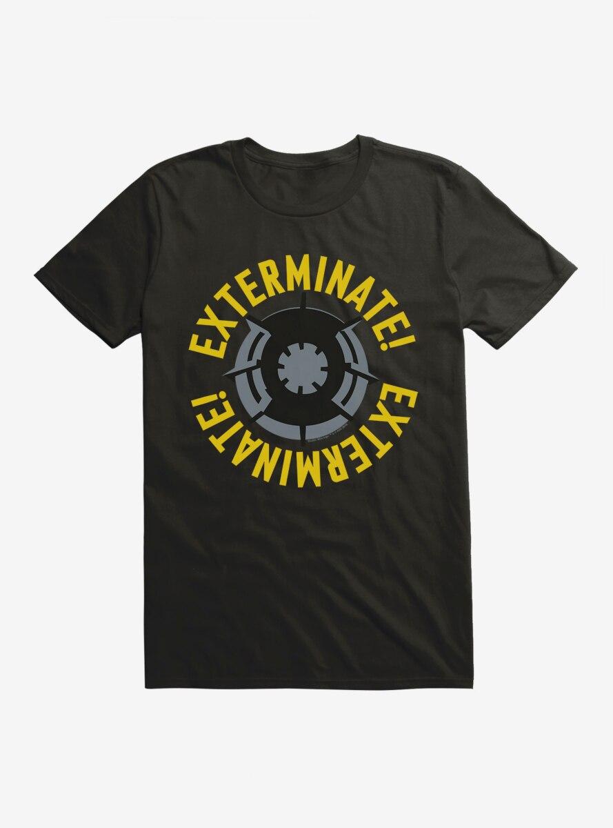 Doctor Who Exterminate Dalek T-Shirt