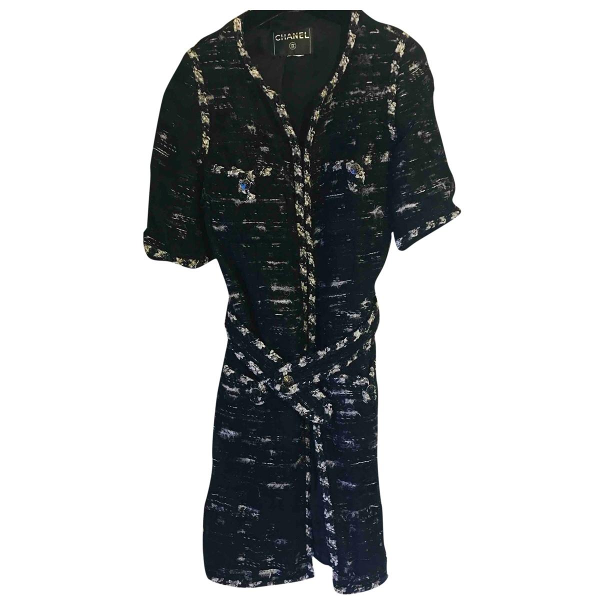 Chanel \N Black Tweed jacket for Women 34 FR