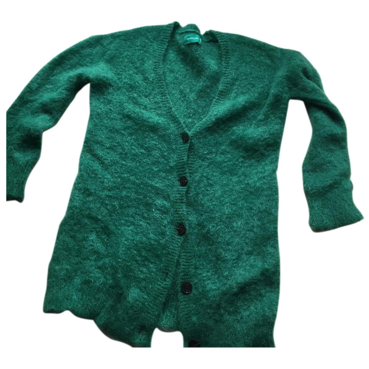 Zadig & Voltaire \N Pullover in  Gruen Wolle