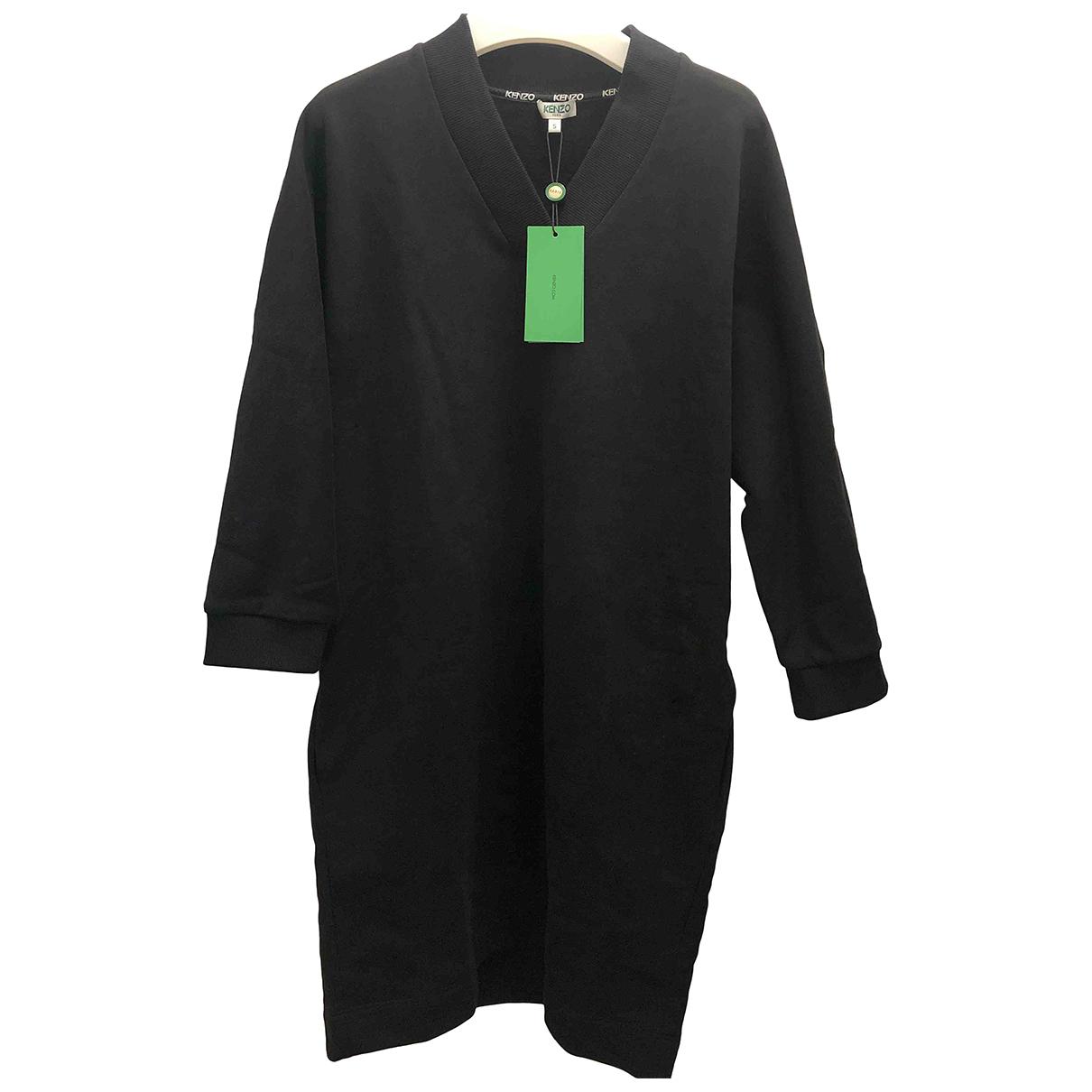 Kenzo - Robe   pour femme en coton - noir
