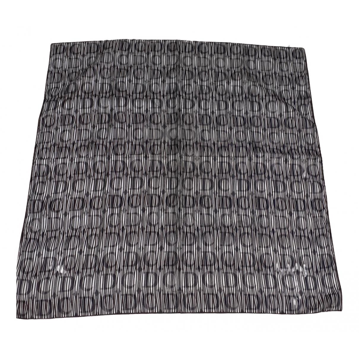 Dior \N Schal in  Braun Seide