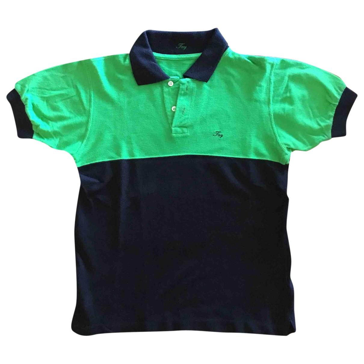 Fay - Top   pour enfant en coton - multicolore