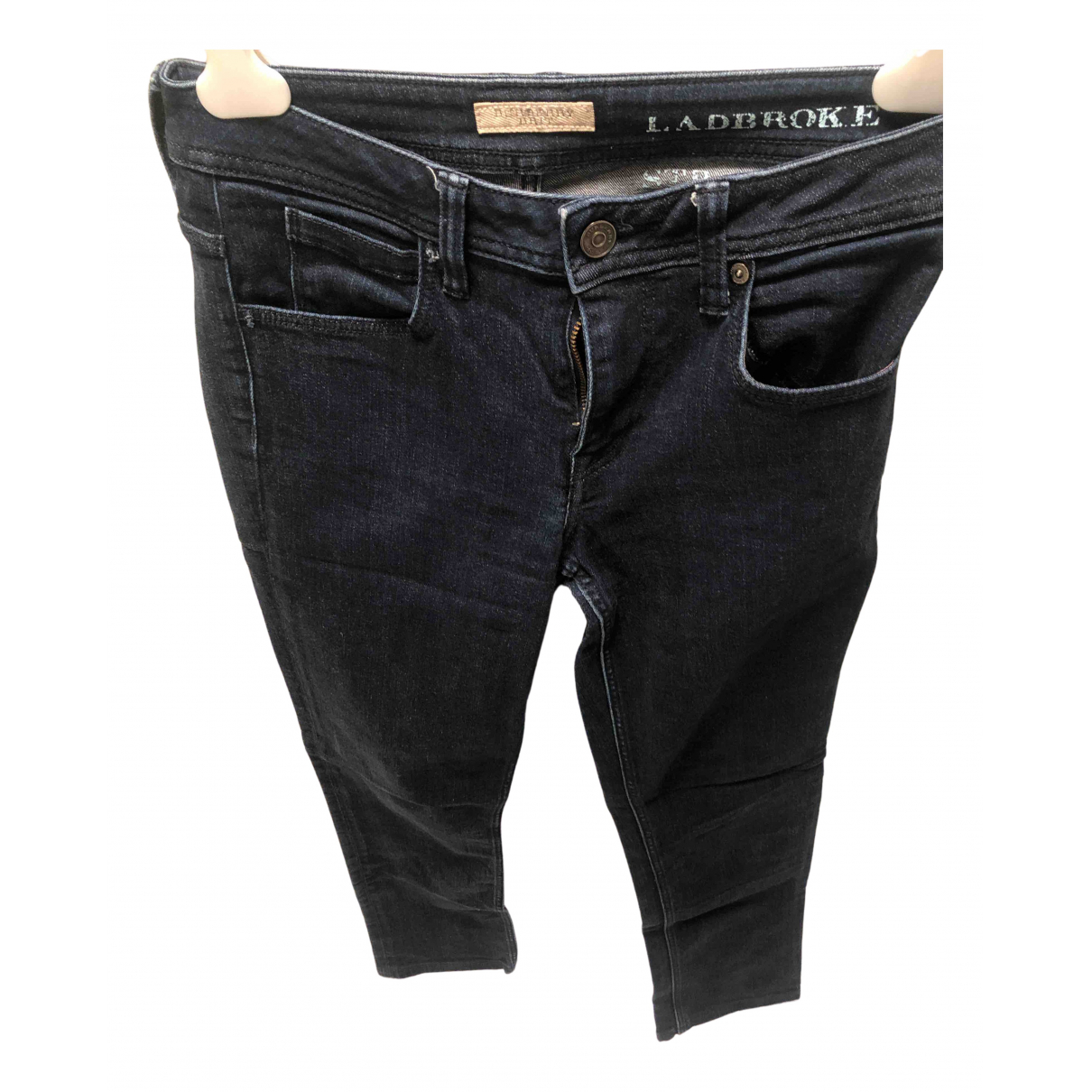 Burberry N Blue Cotton - elasthane Jeans for Women 25 US