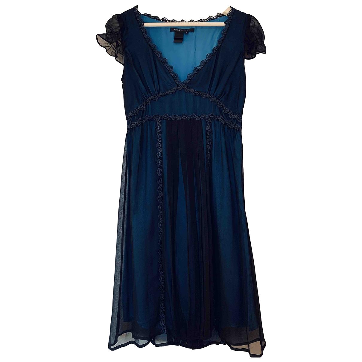 Marc Jacobs \N Blue Silk dress for Women M International