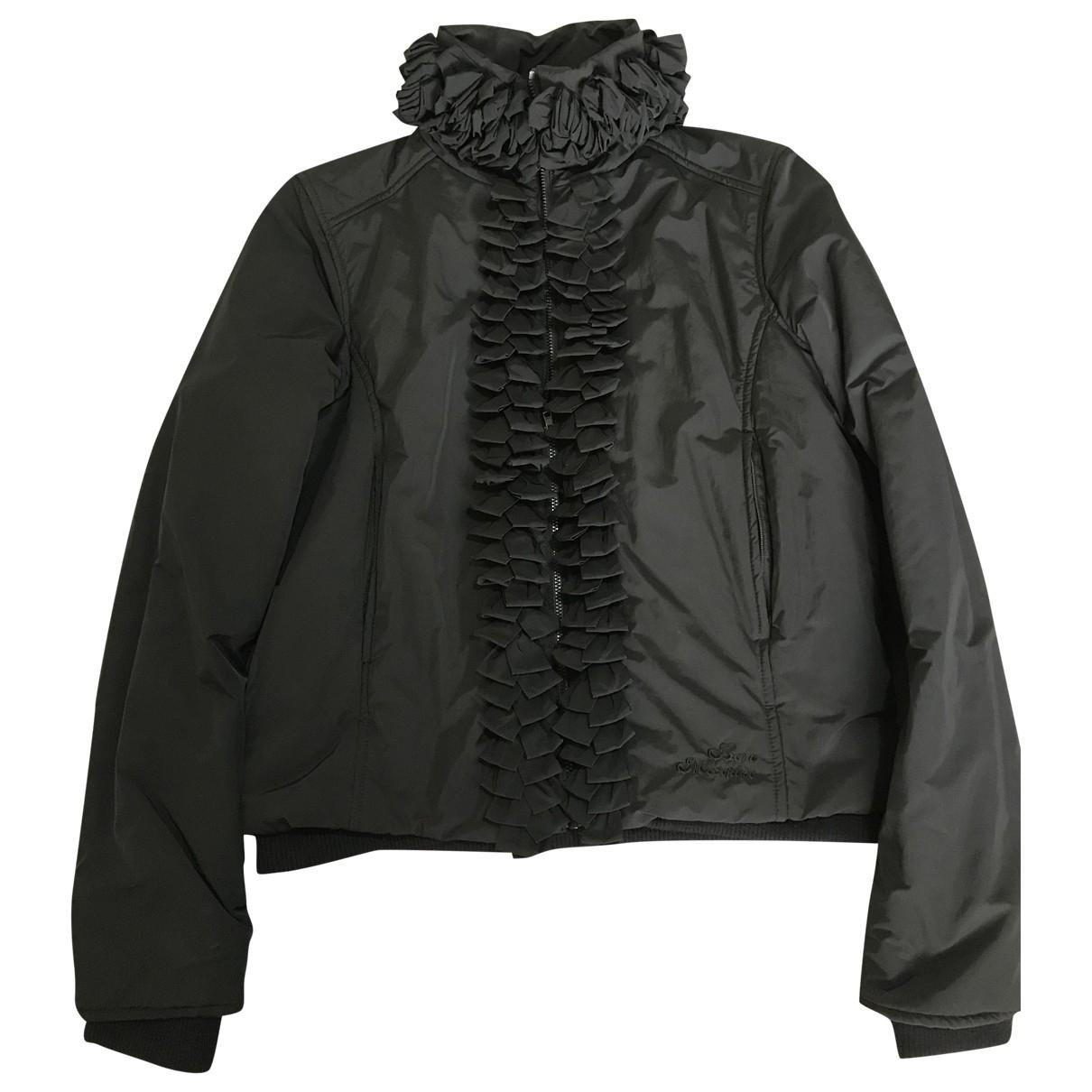 Moschino Love \N Jacke in  Schwarz Polyester