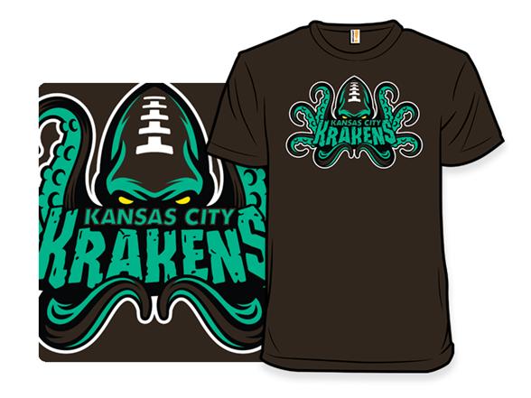 Kansas City Krakens T Shirt