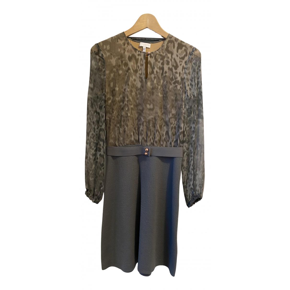 Escada \N Kleid in  Grau Wolle