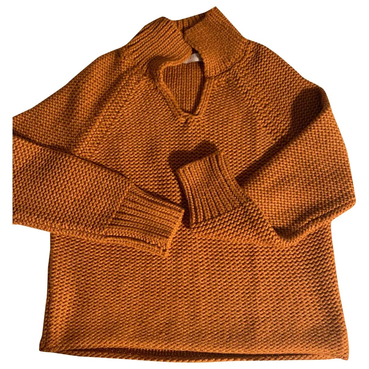 Fabiana Filippi \N Camel Wool Knitwear for Women XS International