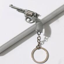 Schluesselbund mit Gewehr Dekor