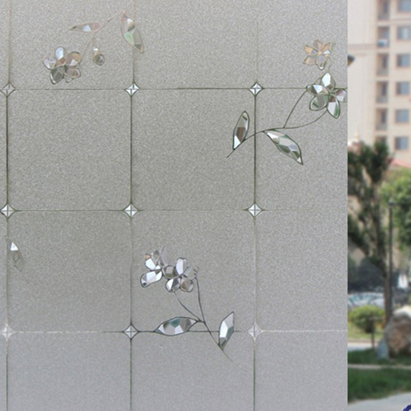 3D Glass Static Sticker No-glue Adiabatic Decorative Privacy Window Film
