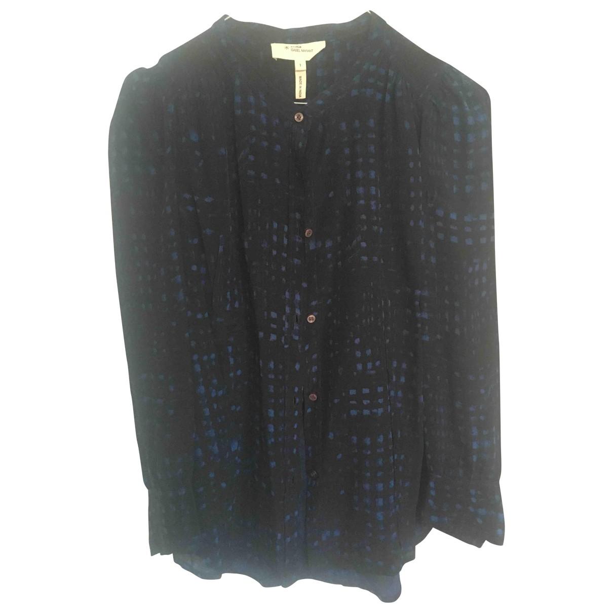 Isabel Marant Etoile \N Black Silk  top for Women 1 0-5