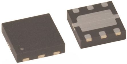 ON Semiconductor Dual N-Channel MOSFET, 3.8 A, 20 V, 6-Pin MicroFET Thin  FDME1024NZT (5)
