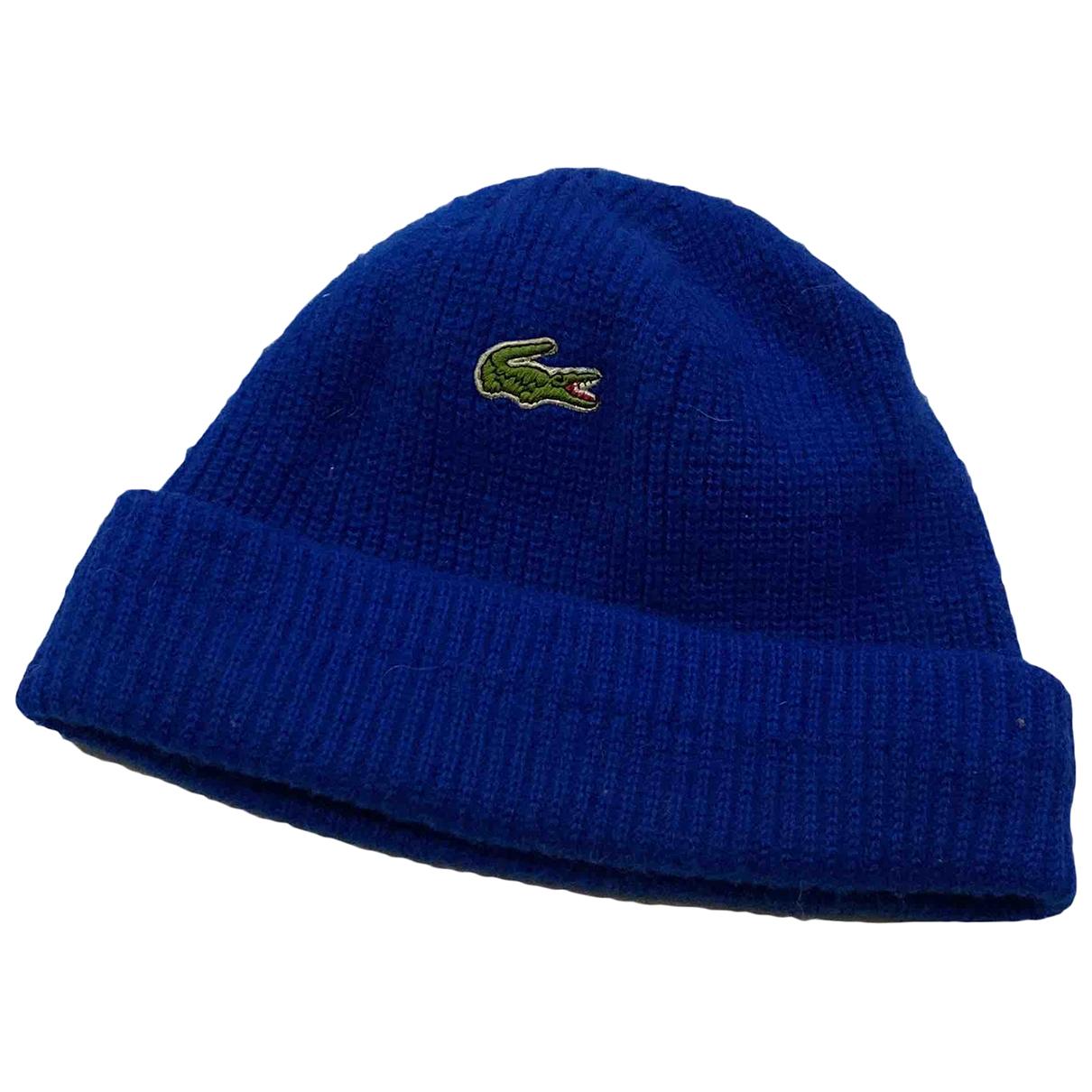 Lacoste - Chapeau & Bonnets   pour homme - bleu