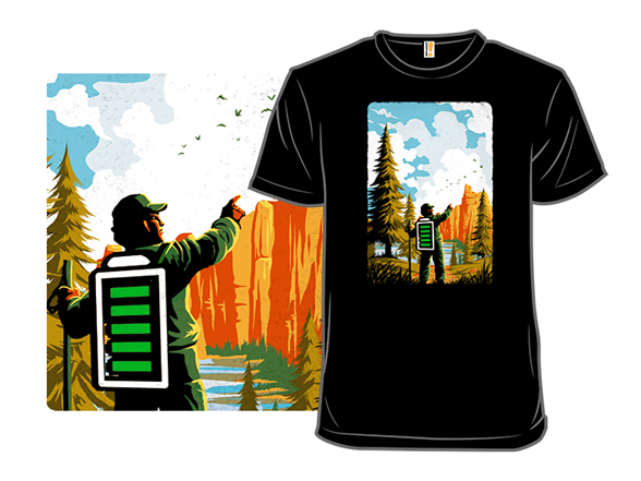 Recharged By Nature T Shirt