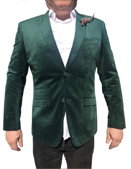 Mens Velvet Blazer ~ Sportcoat Jacket