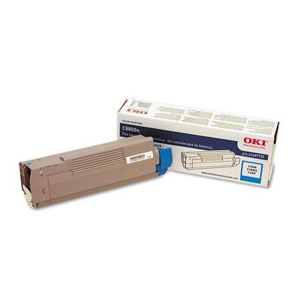 Okidata 43487735 Original Cyan Toner Cartridge