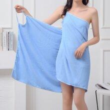 1 pieza toalla de baño unicolor