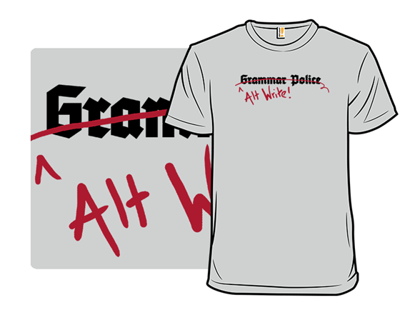 Alt Write T Shirt