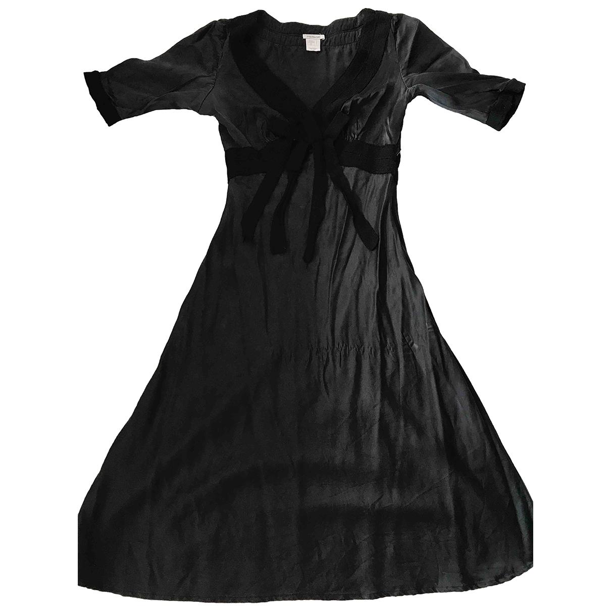 Cacharel \N Kleid in  Schwarz Seide