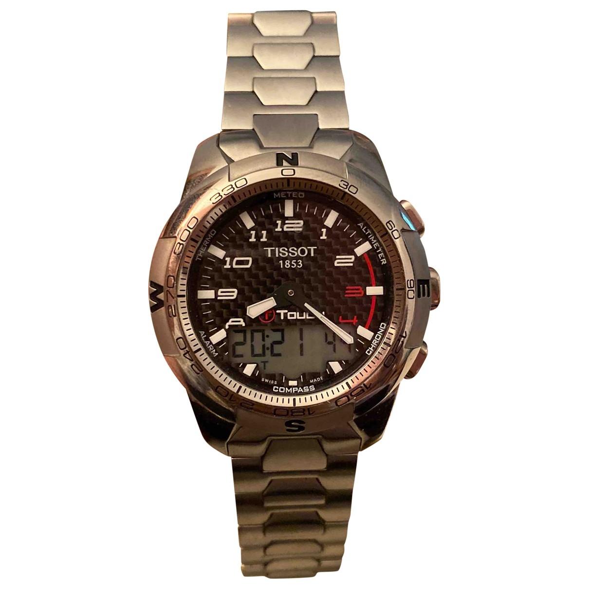 Tissot \N Uhr in  Silber Titan