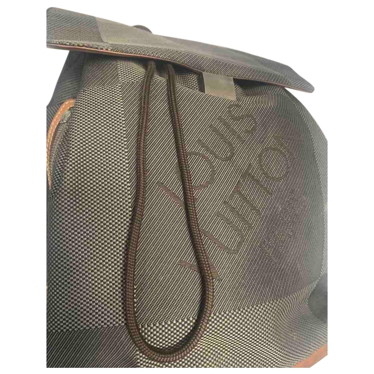 Mochila de Lona Louis Vuitton