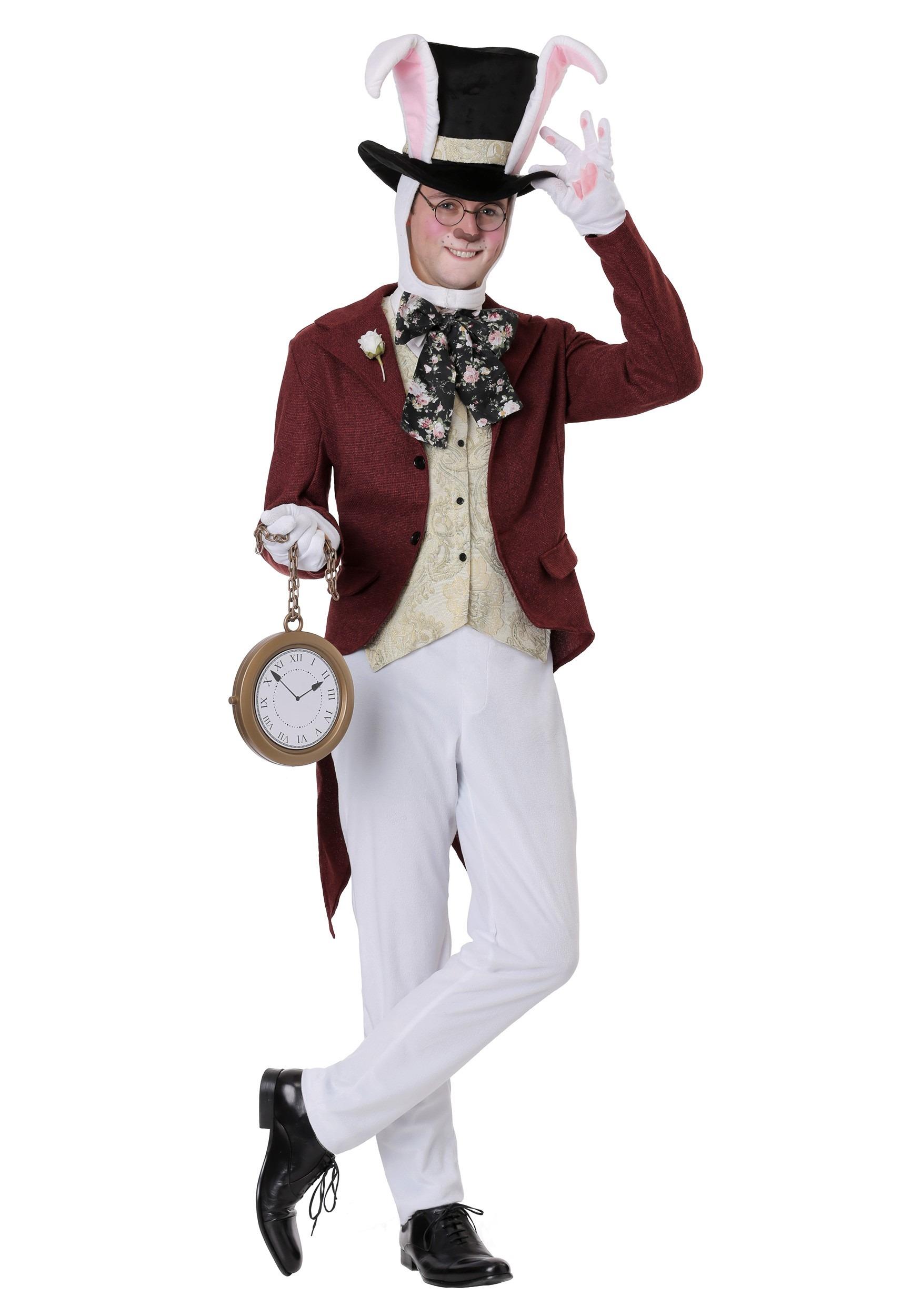 White Rabbit Costume for Men