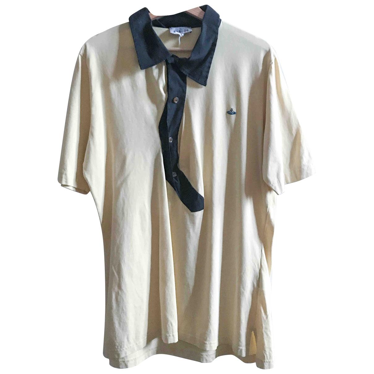 Vivienne Westwood - Polos   pour homme en coton - jaune