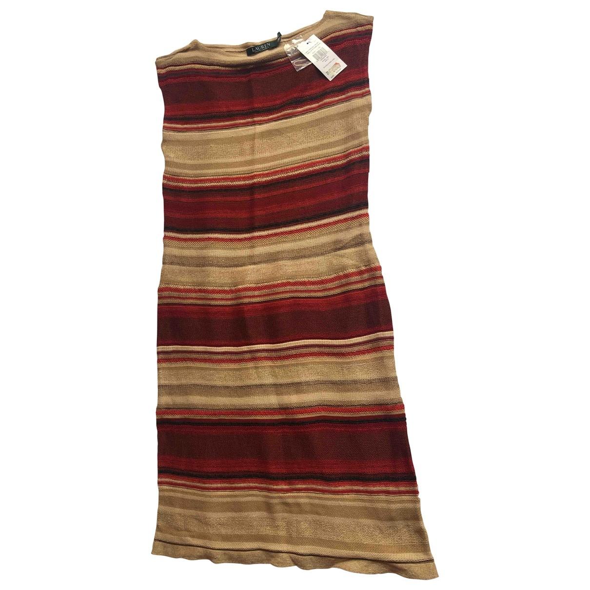 Ralph Lauren \N Camel Cotton dress for Women S International