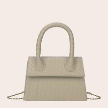 Braided Satchel Bag