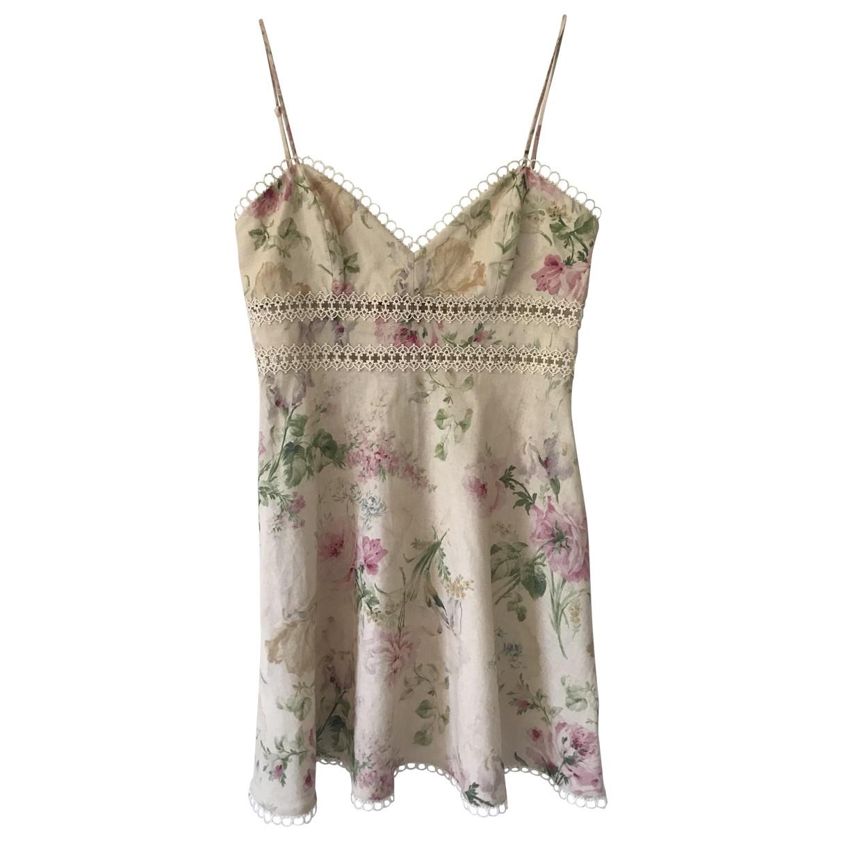 Zimmermann \N Multicolour Cotton dress for Women 40 FR