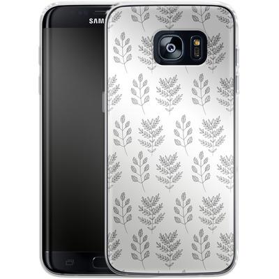 Samsung Galaxy S7 Edge Silikon Handyhuelle - Botanic Studies 2 von Lucy Bohr