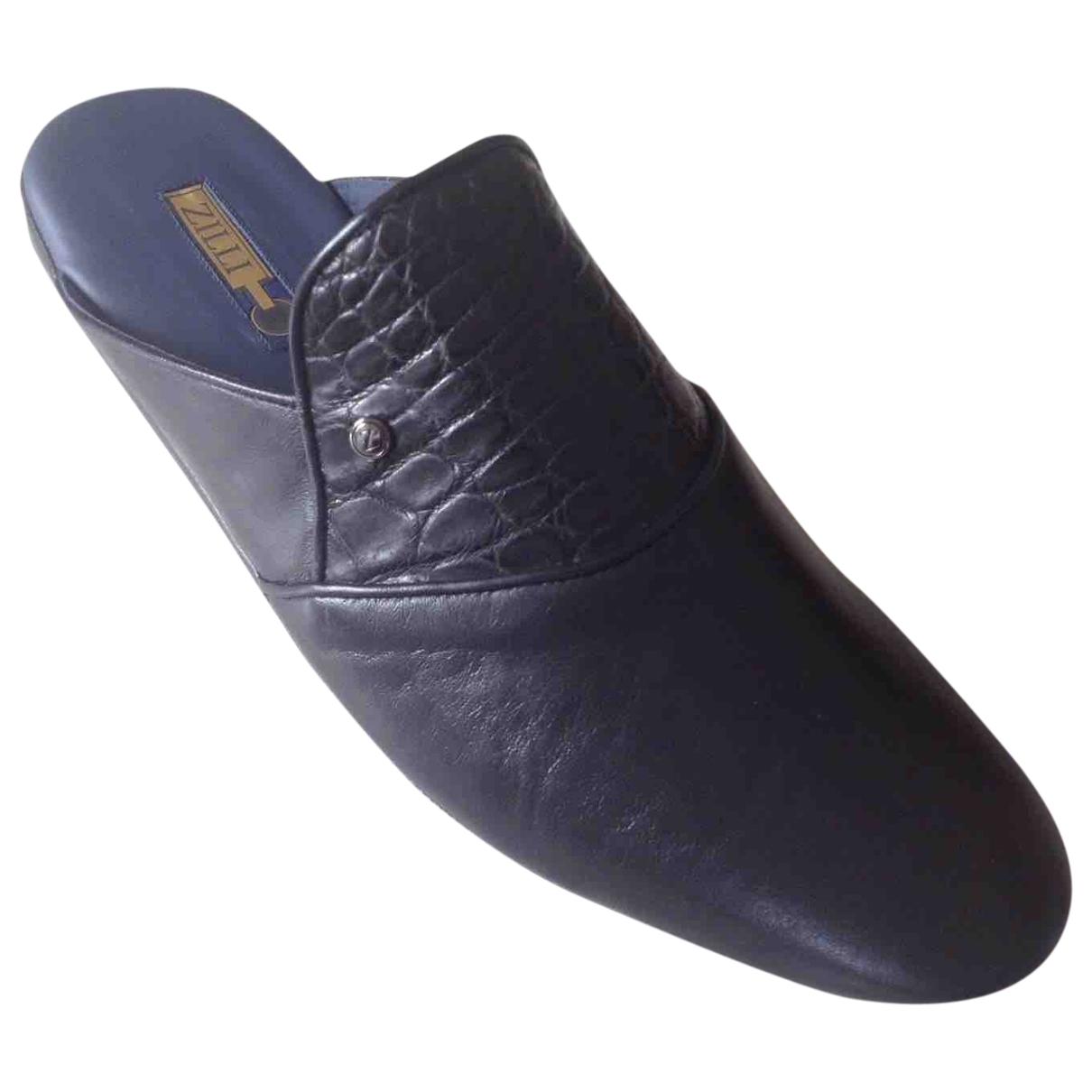 Sandalias de Cuero Zilli