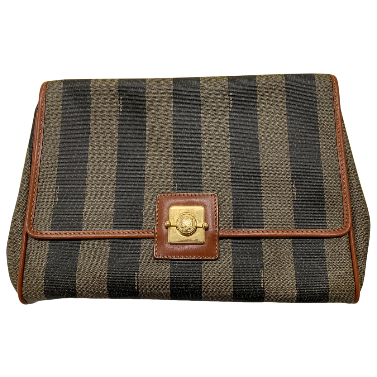 Fendi N Brown Leather handbag for Women N