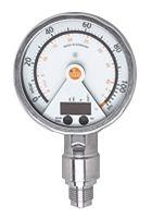 ifm electronic Pressure Sensor for Gas, Liquid , 0.1bar Max Pressure Reading Analogue + PNP-NO/NC Programmable