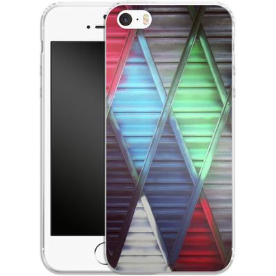 Apple iPhone 5s Silikon Handyhuelle - Paint Diamonds von Brent Williams