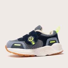 Toddler Boys Colorblock Velcro Strap Sneakers