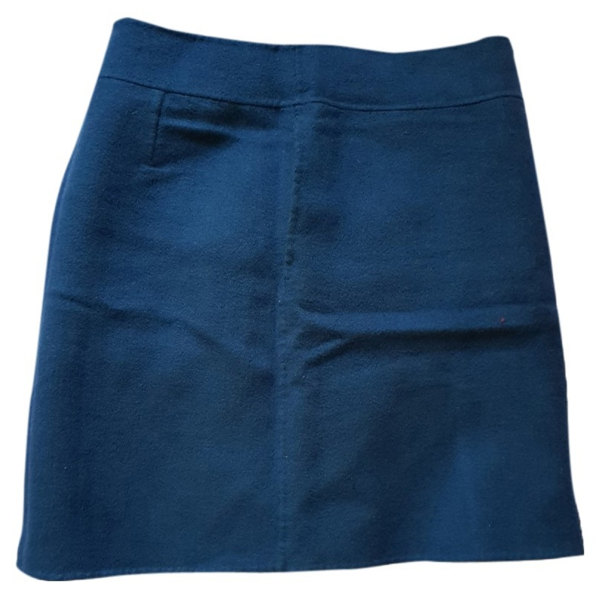 Max Mara s \N Rocke in  Blau Wolle