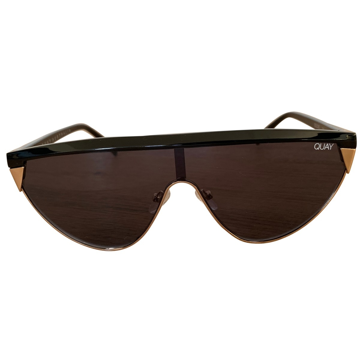 Quay \N Black Sunglasses for Women \N