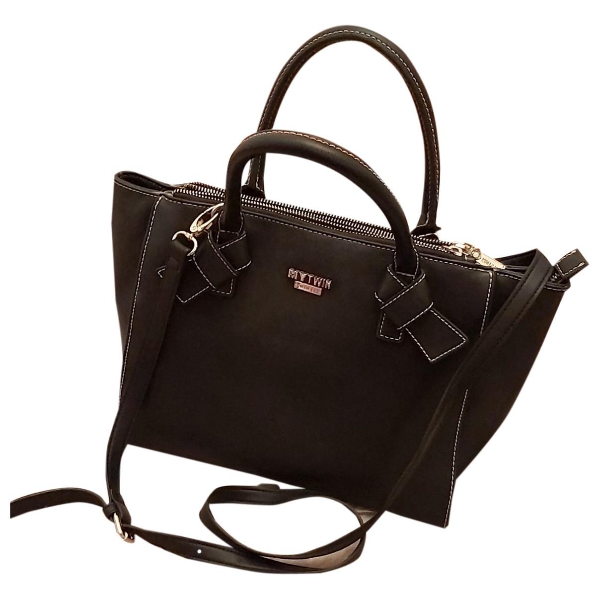Twin Set N Black Leather handbag for Women N