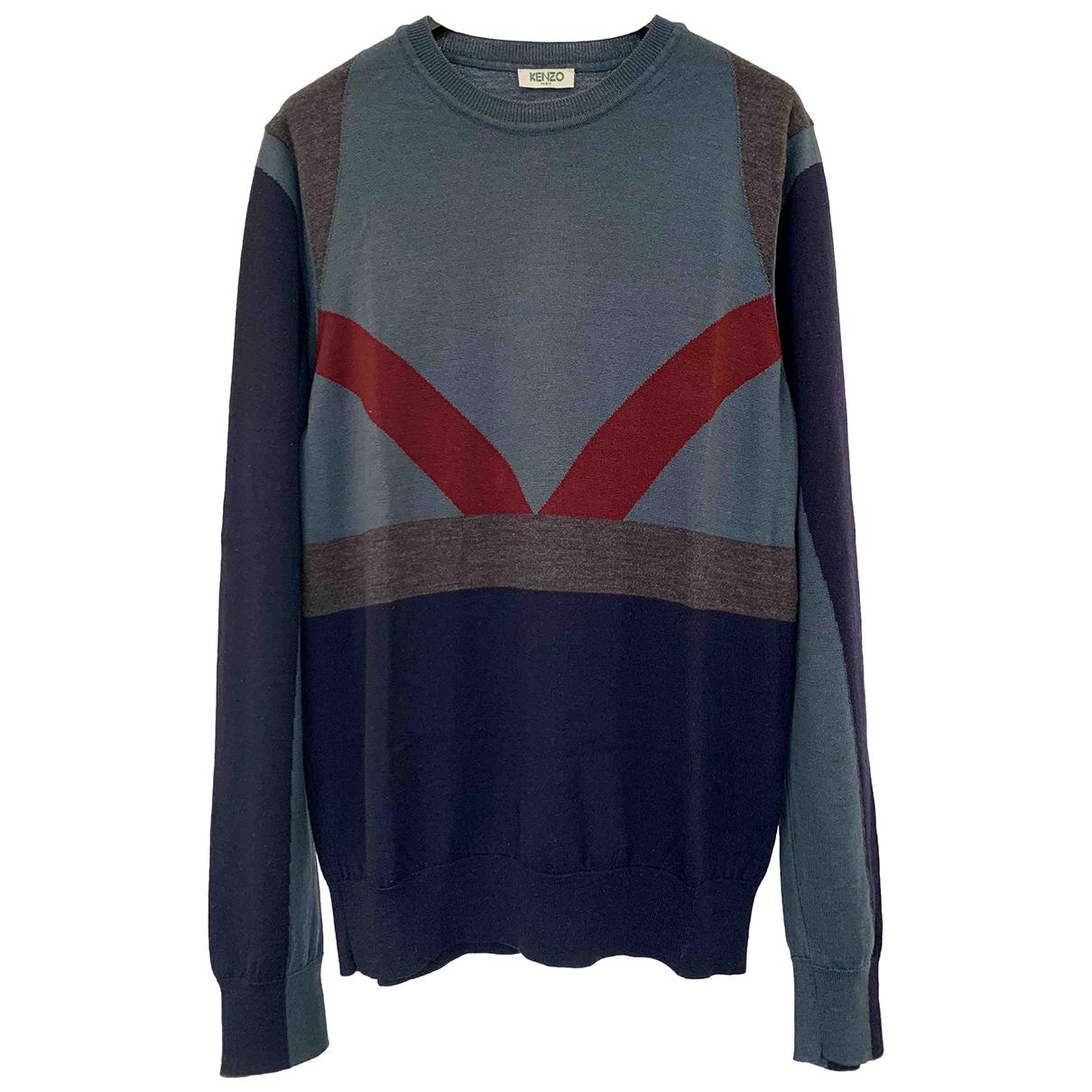 Kenzo \N Pullover.Westen.Sweatshirts  in  Bunt Wolle
