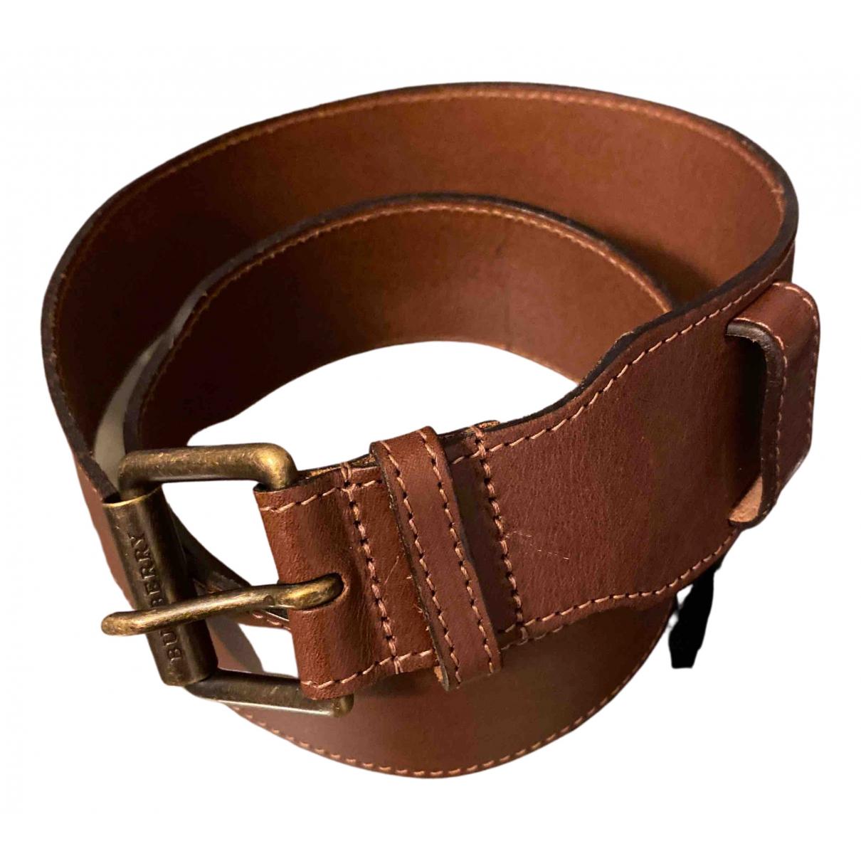 Burberry N Brown Pearls belt for Women 85 cm