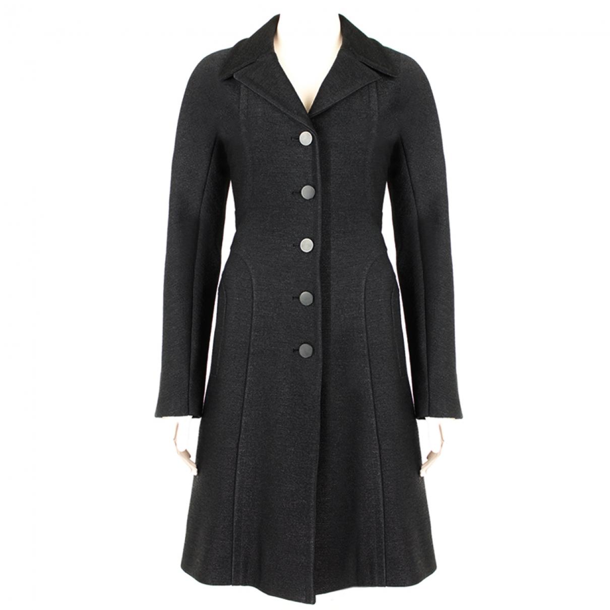 Alaia - Manteau   pour femme - noir