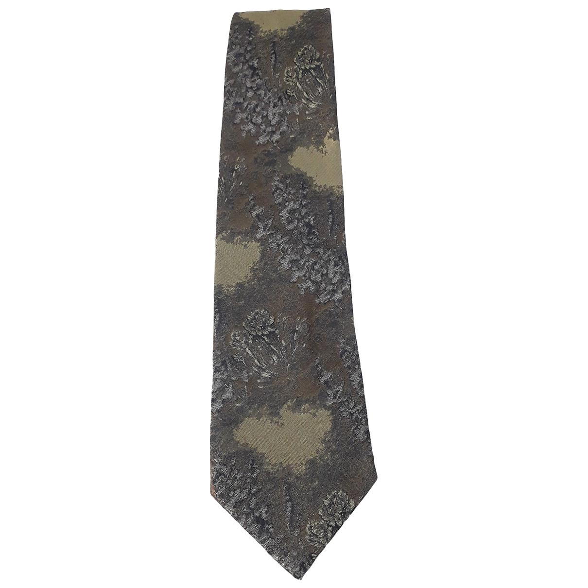 Pal Zileri \N Krawatten in  Gruen Seide