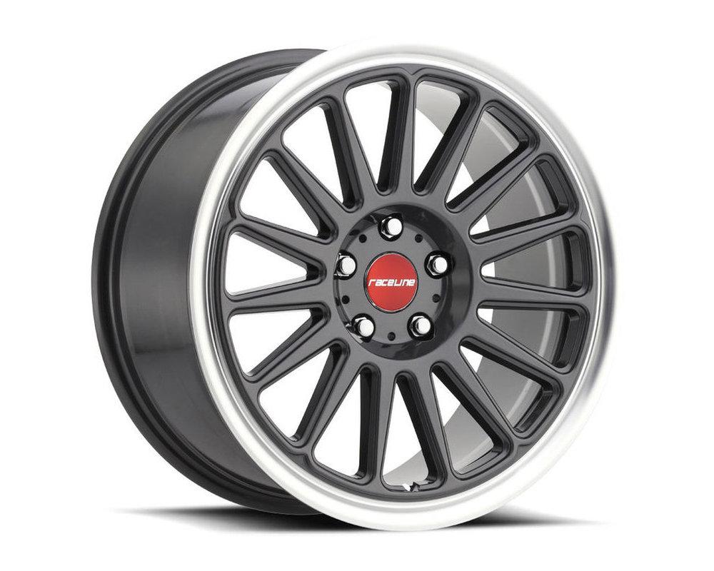 Raceline 315G Grip Gunmetal Wheel 17X9 5X114.3 40mm