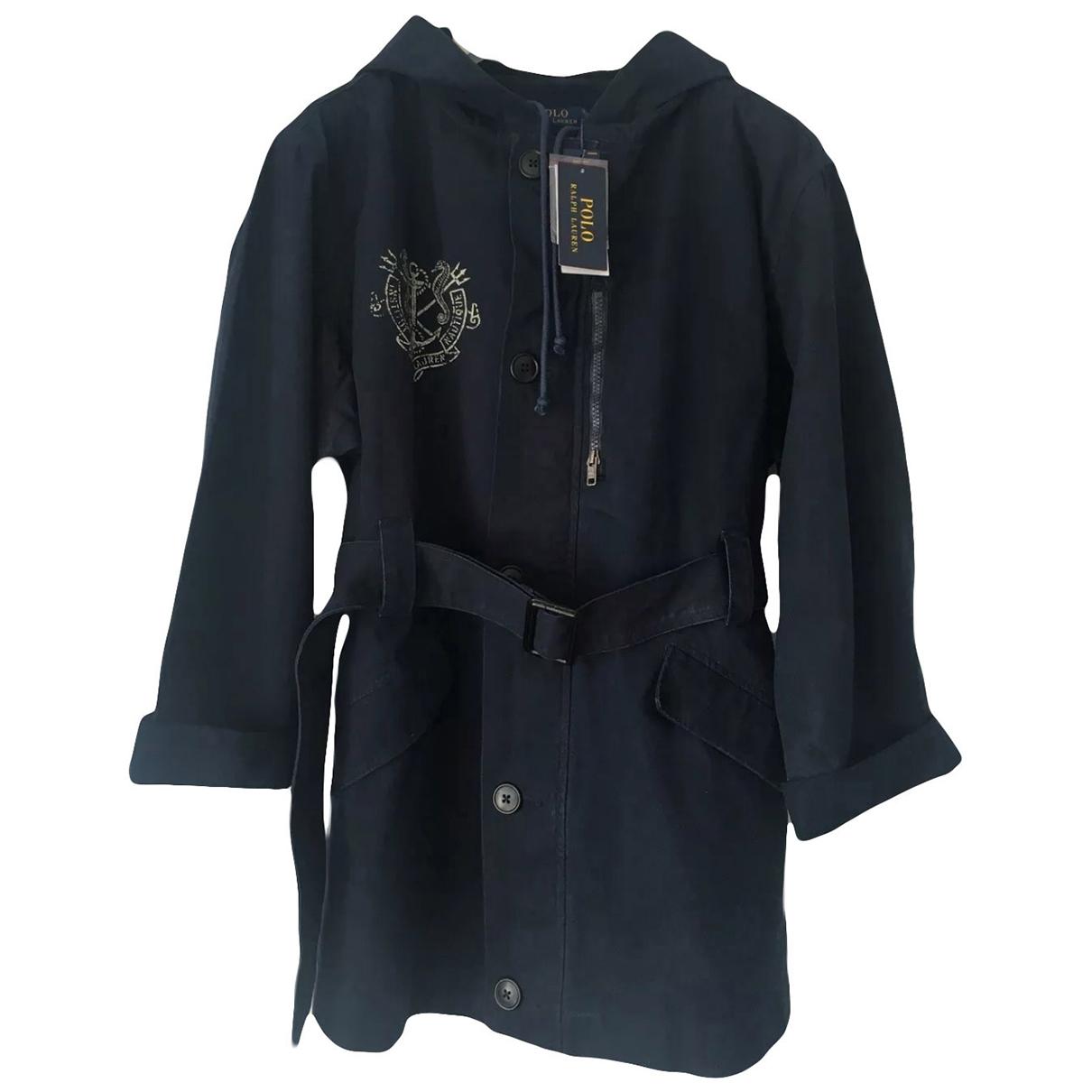 Polo Ralph Lauren - Manteau   pour femme en coton - bleu